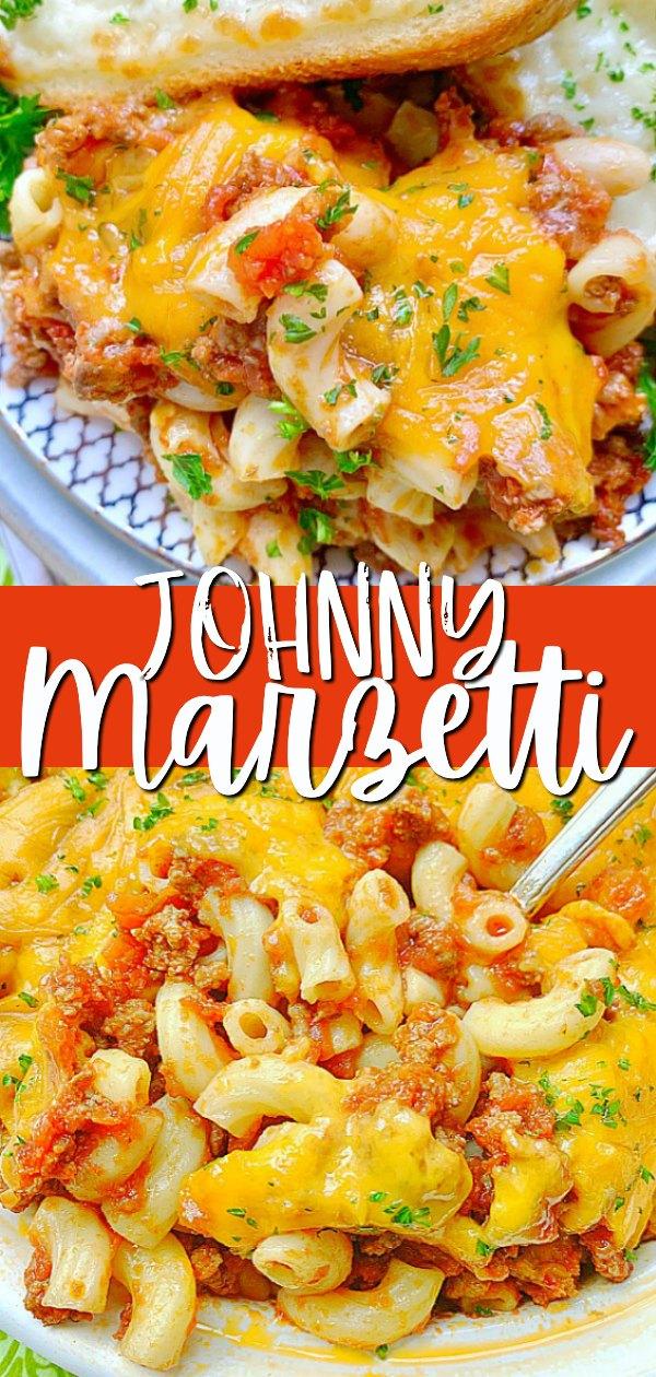 Johnny Marzetti | Foodtastic Mom #johnnymarzettirecipe #italianrecipes
