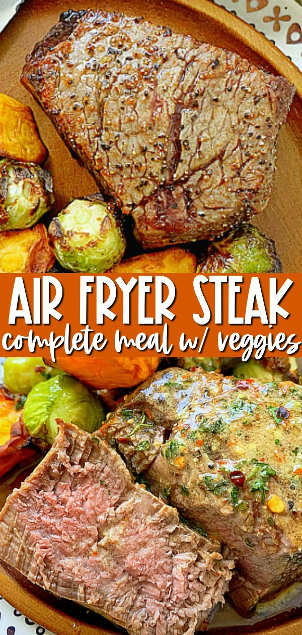 Air Fryer Filet Mignon | Foodtastic Mom #airfyerrecipe #airfryersteak #airfryerfiletmignon #filetmignonrecipes