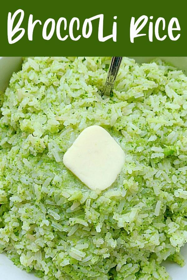 Broccoli Rice | Foodtastic Mom #ricerecipes #broccolirice #sidedishes