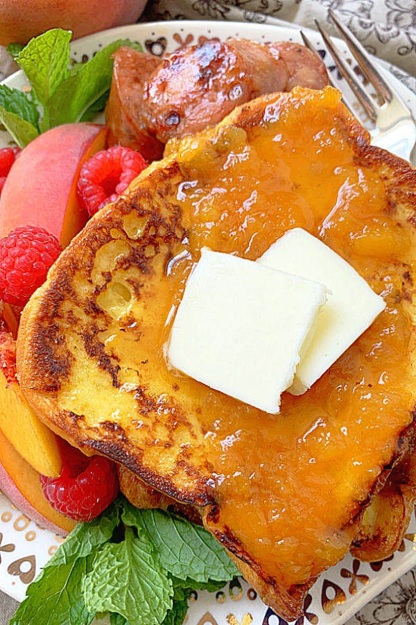 stack of buttermilk french toast