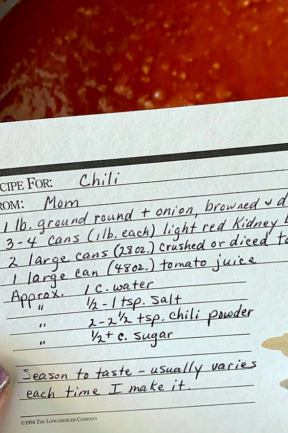 My Mom's Chili Recipe | Foodtastic Mom #chili #chilirecipe #chilirecipeeasy
