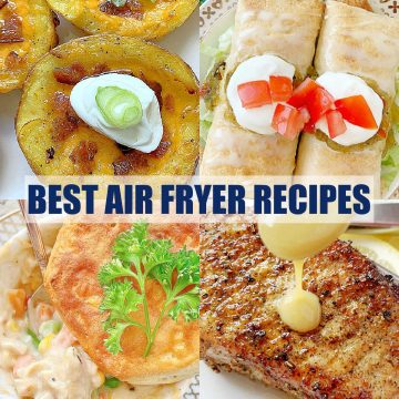 Best Air Fryer Recipes | Foodtastic Mom #airfryerrecipes #airfryerrecipeshealthy #airfryerrecipeseasy #airfryerrecipeseasydinner