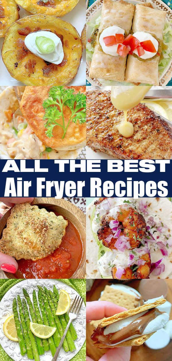 Best Air Fryer Recipes | Foodtastic Mom #airfryerrecipes #airfryerrecipeshealthy #airfryerrecipeseasy #airfryerrecipeseasydinner via @foodtasticmom