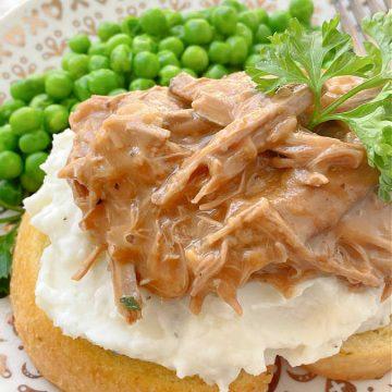 leftover pot roast sandwich - a beef manhattan