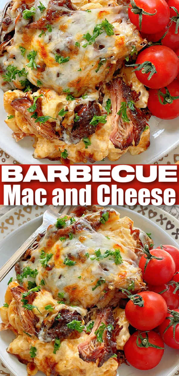 BBQ Mac and Cheese | Foodtastic Mom #macandcheese #bbqmacandcheese #bbqrecipes #barbecuerecipes via @foodtasticmom