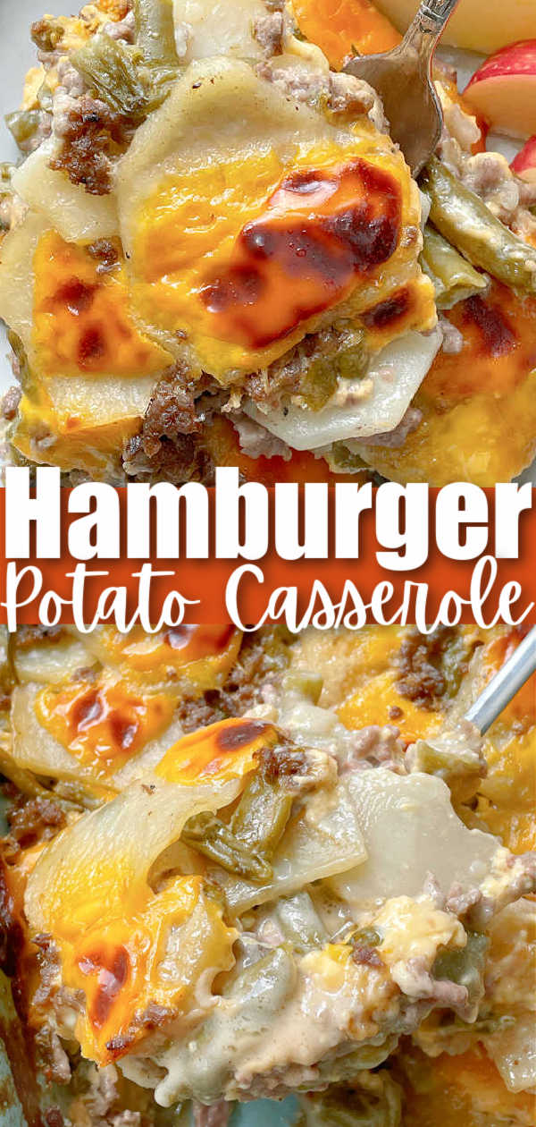 Hamburger Potato Casserole | Foodtastic Mom #hamburgerrecipes #casserolerecipes #hamburgerpotatocasserole via @foodtasticmom
