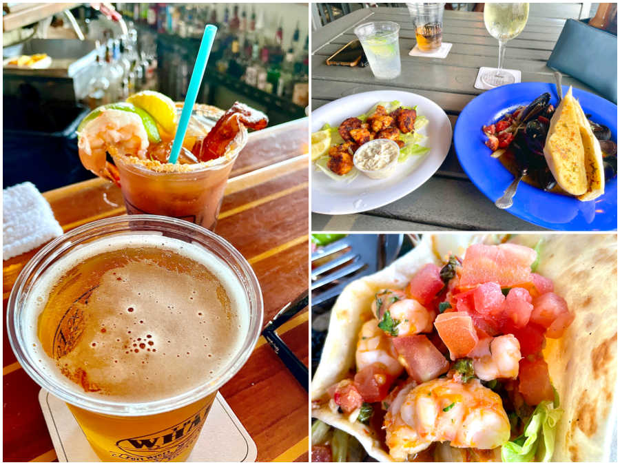 food and drink at the dixie fish company in fort myers florida