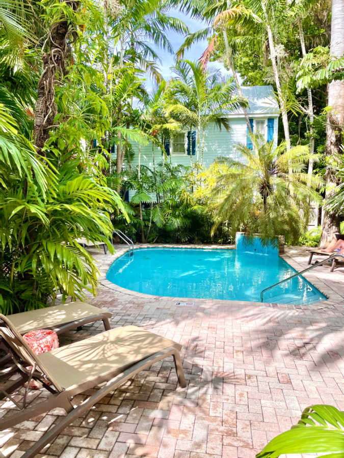 pool at the tropical inn in key west florida