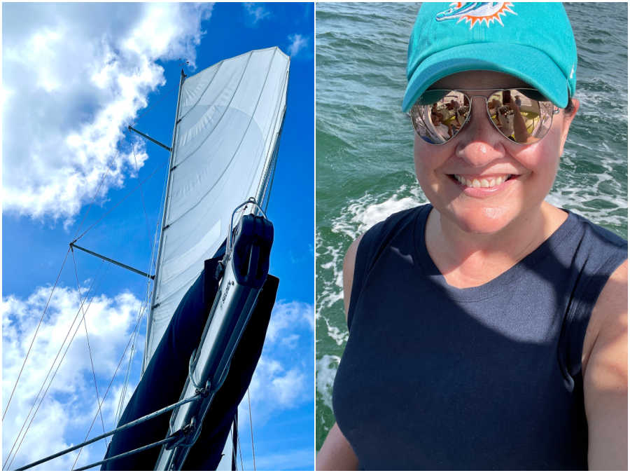 magic wind sailing adventure in fort myers florida