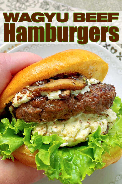 Wagyu Burger | Foodtastic Mom #burgerrecipes #wagyuburger #wagyubeef #hamburgers #cheeseburgers via @foodtasticmom