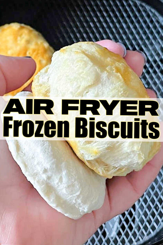 Frozen Biscuits in Air Fryer | Foodtastic Mom #airfryerrecipes #airfryerfrozenbiscuits #howtoairfryfrozenbiscuits #biscuitrecipes via @foodtasticmom