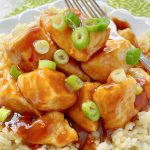 Air Fryer Orange Chicken | Foodtastic Mom #airfryerrecipes #airfryerorangechicken #orangechicken #asianrecipes #fakeouttakeout