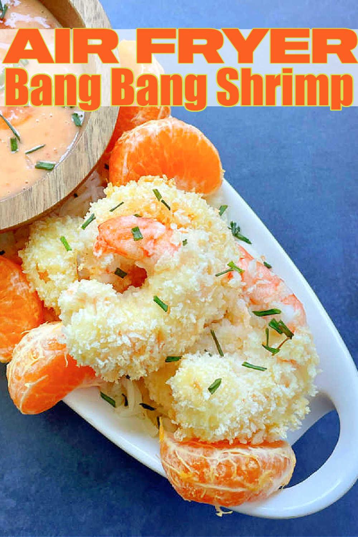 Air Fryer Bang Bang Shrimp   Foodtastic Mom #airfryerrecipes #shrimprecipes #bangbangshrimp #airfryerbangbangshrimp via @foodtasticmom